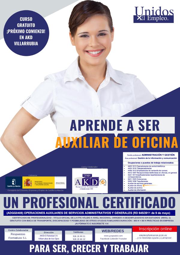 Operaciones Auxiliares de Servicios Administrativos y Generales (ADGG0408)