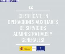 Curso de Operaciones Auxiliares de Servicios Administrativos y Generales