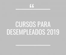 Cursos para desempleados 2019 - Cerrado