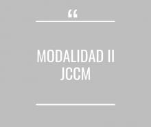 Modalidad II JCCM - Cerrado