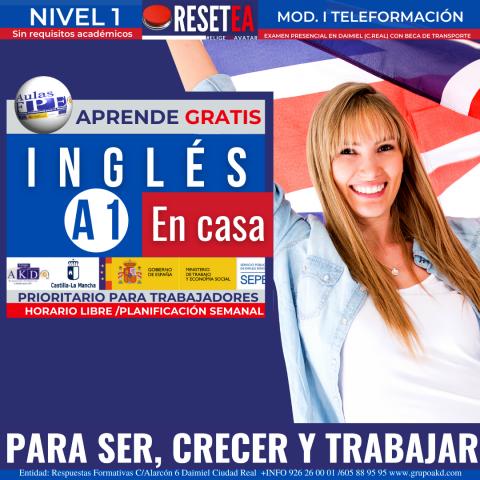 Inglés B2 para desempleados