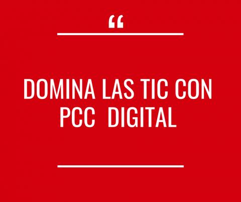 Domina las TIC con PCC Digital - Activo