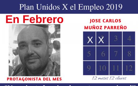 Protagonista febrero: Jose Carlos Muñoz Parreño