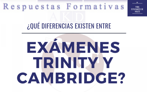 Formatos de examen Trinity y Cambridge