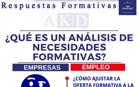 ¿Qué es un análisis de necesidades formativas?