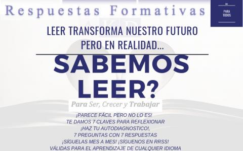 LEER TRANSFORMA TU FUTURO