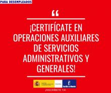 CP de Operaciones Auxiliares de Servicios Administrativos y Generales