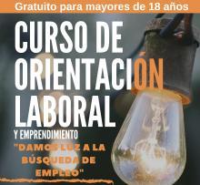 CURSO GRATUITO ORIENTACION LABORAL Y EMPRENDIMIENTO ALTO GUADIANA MANCHA