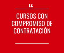CURSOS CON COMPROMISO DE CONTRATACIÓN - Activo