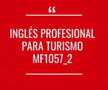 Inglés profesional para Turismo MF1057_2 - Activo