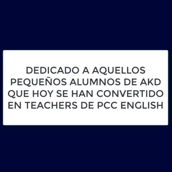 Alumnos que hoy son teachers